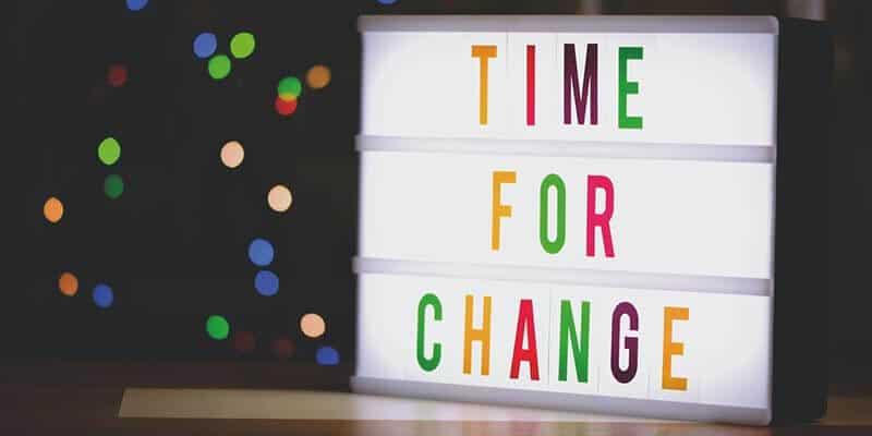 dejar ir - el cambio constante