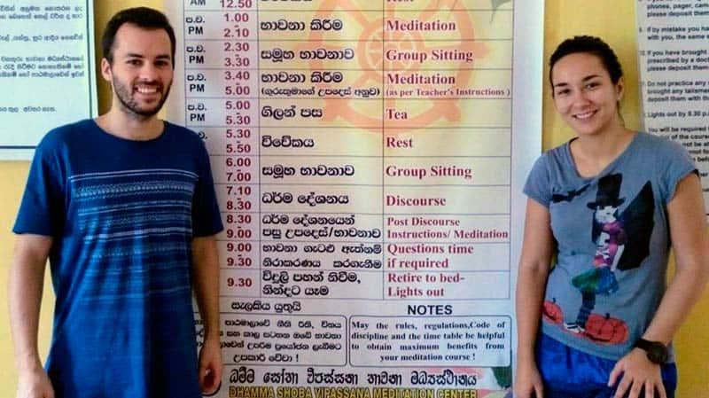 retiro de meditación vipassana